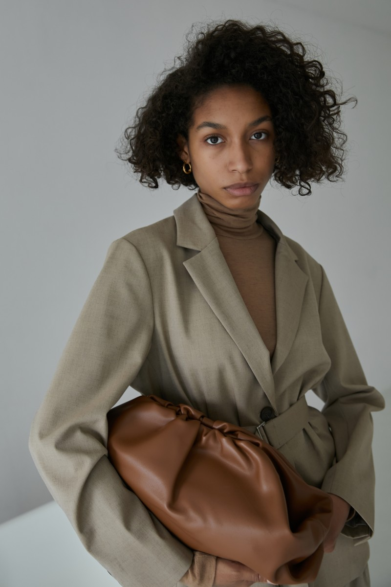 Клатч Pouch big brown
