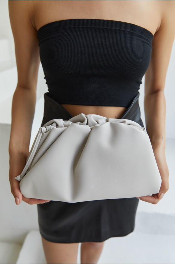 Клатч Pouch medium beige
